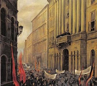 Proklamation der Republik Deutsch Österreich