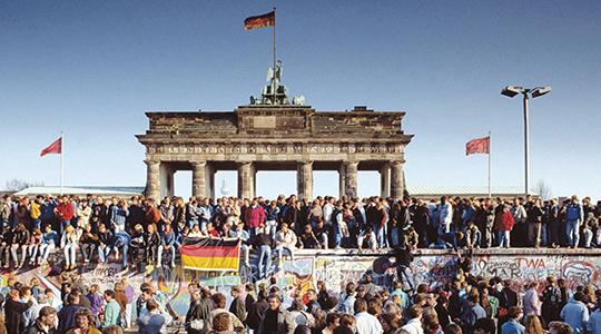 Wiedervereinigung der BRD und der DDR